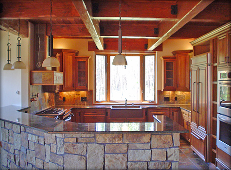 Summit County kitchen remodel in Colorado