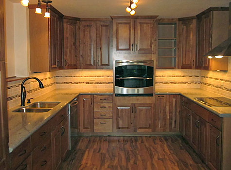 Custom kitchen by Antique Design Carpentry of Breckenridge