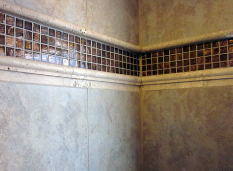 Summit County tile work by Antique Design