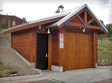 Structure by Antique Design carpenter for The Town of Breckenridge