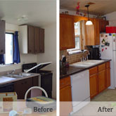 kitchen remodel in Summit County home
