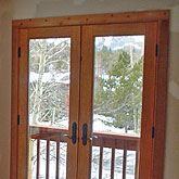 windows and door installations as well as bamboo flooring and cedar trim installations