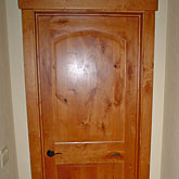 Alder door and alder trim work